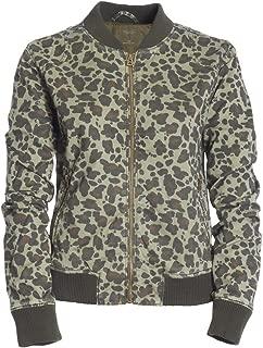 Aeropostale Women's Leopard Bomber Jacket