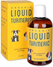 Kangaroo Dogs Organic Turmeric Curcumin Dog Joint Supplement - Liquid for Faster and Better Absorbtion, 95% Curcuminoids Natural Dog Joint Supplement Liquid