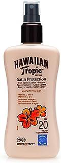 Hawaiian Tropic Satin Protection Sun Spray Lotion Zonnespray LSF 20, 200 ml, 1 stuk
