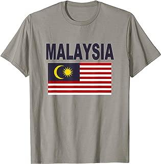 Malaysia Flag Cool Malaysian Malay Flags Men Women T-Shirt