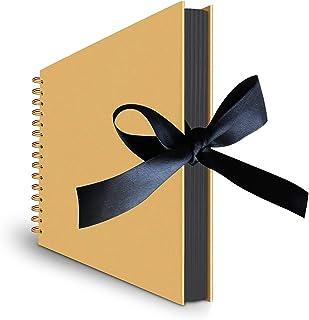 SKEIDO DIY Photo Album Craft Handwork Scrapbook Record Gifts for Anniversary Wedding Birthday Valentines Day Travel Gradua...