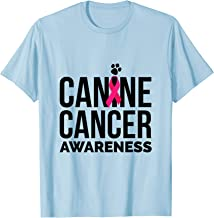 canine cancer t shirts