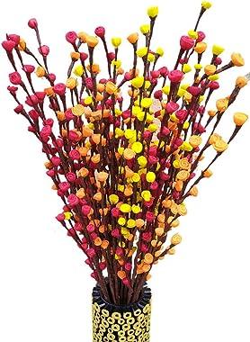 Fab n Style Artificial Flower Bunch(Multicolour, 1 Piece)