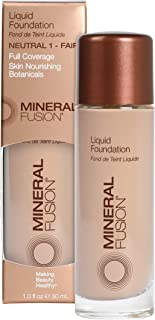 Mineral Fusion Liquid Foundation, Neutral 1, 1 Ounce (Packaging May Vary)