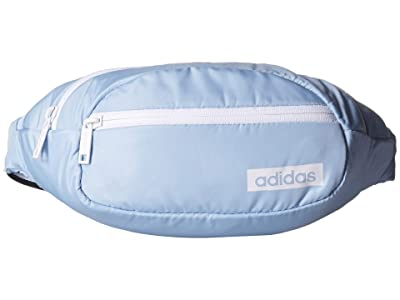 adidas Core Waist Pack (Glow Blue/White/Black) Backpack Bags