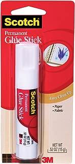 Scotch Glue Stick 6015, .52 Ounces