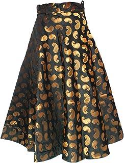 Women's Umbrella Cut Traditional Lehenga/Skirt for Party/Festival Function,