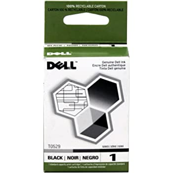 Black,2-Pack AB Volts Remanufactured Ink Cartridge Replacement for Dell T0529 for 720 A920