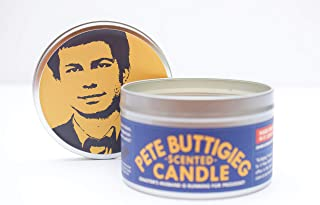 JD and Kate Industries Pete Buttigieg Scented Candle | Hand-Poured in 16 oz tin | Scotch Whiskey Scent