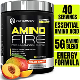 Forzagen Amino Energy + BCAA Amino Acids - Energy | Focus | Endurance | Reaction | 40 Servings of Amazing Flavors | Amino ...