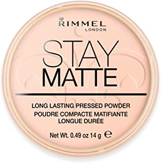 Rimmel London, Stay Matte Pressed Powder, Shade 002, Pink Blossom
