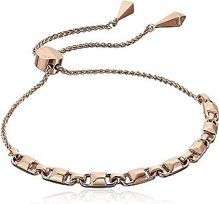 Michael Kors Women's Precious Metal-Plated Sterling Silver Mercer Link Slider Bracelet