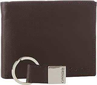 Calvin Klein Men's Rfid Blocking Leather Bookfold Wallet