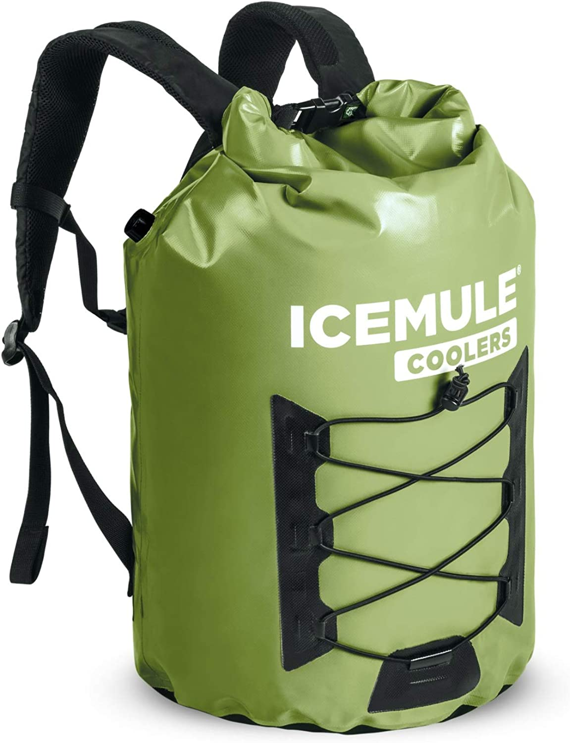 IceMule Pro Backpack Cooler  Large (23L)  Olive Green