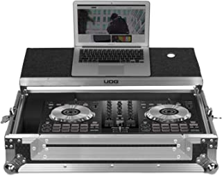 UDG GEAR Ultimate Flight Case Pioneer DDJ-SB2/SB3/DDJ-400 Silver Plus (estante para portátil) U92017SL