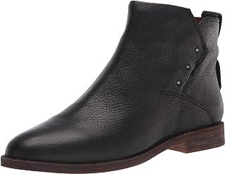 حذاء برقبة حتى الكاحل من Franco Sarto للنساء، أسود، 5