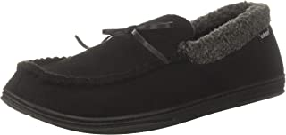 isotoner Mens Gabriel Moccasin Slipper with Indoor/Outdoor Sole