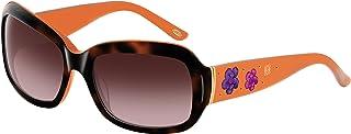 Loewe - SLW778S6006E1 Gafas de sol, Orange/Shiny Havana, 60 para Mujer