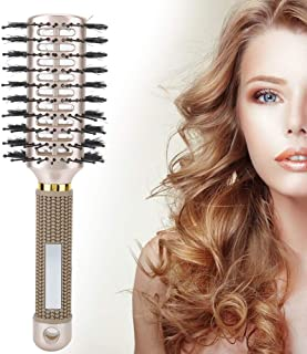 Wide Tooth Comb for Curly Hair Massage Comb, Double Sided Styling Comb, Women for Professional Hairdressing(Double-sided c...