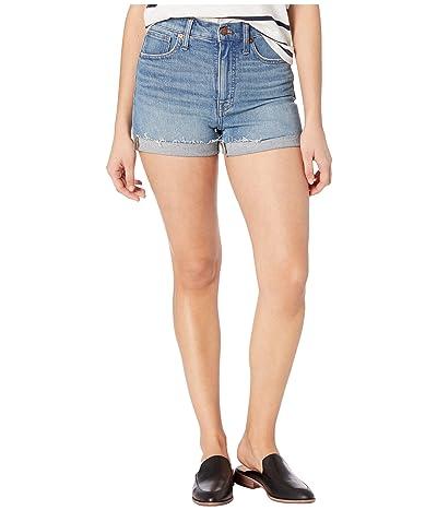 Madewell High-Rise Denim Shorts in Malden Wash (Malden Wash) Women