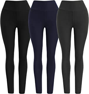 Ultra Soft High Waist Solid Seamless Compression Fashion Ankle Leggings for Women