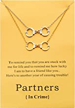 Boosic Friendship Bracelets Handcuffs Infinity BFF Charm Bracelet for Women, 11