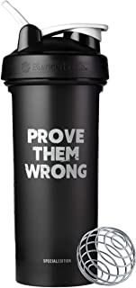 BlenderBottle Motivational Quote Classic V2 Shaker Bottle Perfect for Protein Shakes and Pre Workout, 28-Ounce, Prove Them...