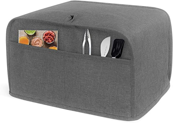 LUXJA 2 Slice Toaster Cover (11 x 7.5 x 8 inches)