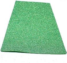 10 arkuszy/worek 20X30 Cm brokatowy papier piankowy błyszczy papier do rękodzieła dla dzieci rzemieślnicze wycinany papier...