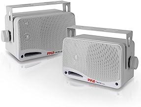 Outdoor Waterproof Wireless Bluetooth Speaker – 3.5 Inch Pair 3-way Active Passive..