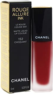 Chanel ROUGE ALLURE INK MATTE LIQUID LIP COLOUR CHOQUANT barra de labios Rojo Mate 6 ml - Barras de labios (Rojo CHOQUANT...