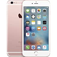 Apple iPhone 6S Plus 5.5in 16GB GSM Unlocked Smartphone, Rose Gold (Renewed)