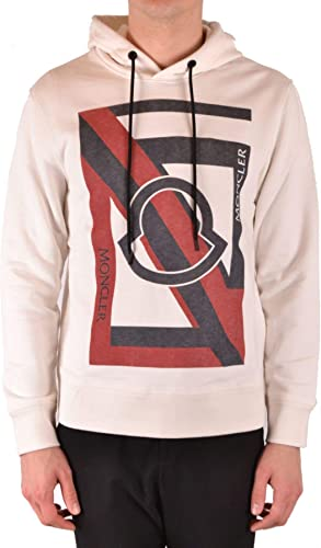 MONCLER Luxury mode Homme MCBI37933 Blanc Sweatshirt   Saison Outlet
