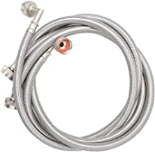 TT FLEX UPC approved Flexible stainless steel braided washing machine hose with elbow,3/4