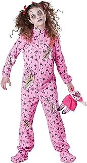 InCharacter Costumes Tween Zombie Girl Costume, Purple, Large