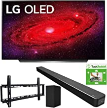 $2594 » LG OLED65CXPUA 65-inch CX 4K Smart OLED TV with AI ThinQ (2020) Bundle SN6Y 3.1 Channel High Res Audio Sound Bar + TaskRabbit Installation Services + Vivitar Low Profile Flat TV Wall Mount