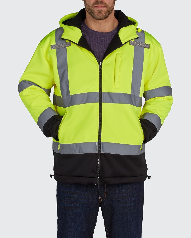sale UTILITY PRO UHV773 - L Hooded Large Max 69% OFF Ye Fleece Liner Shell Soft