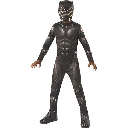 Rubies Disfraz oficial de Marvel Avengers Endgame Black Panther para niños, disfraz de superhéroe para niños