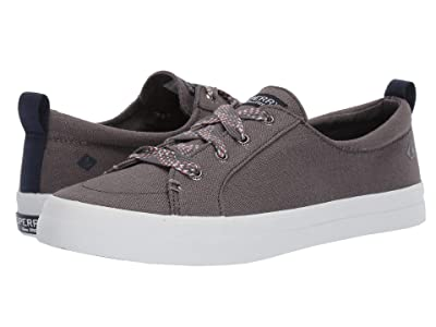 Sperry Crest Vibe Checkered Lace (Dark Grey) Women