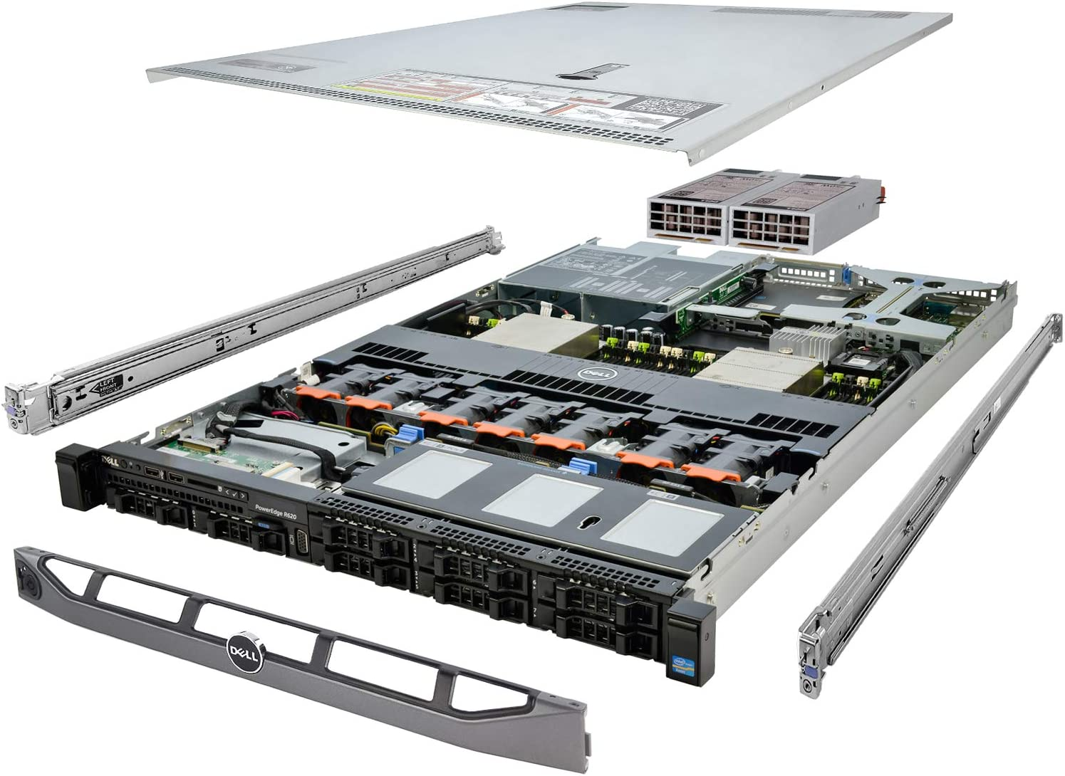 Dell PowerEdge Our shop OFFers the best service R620 Server 2X Milwaukee Mall E5-2660 4X 1T 2.20Ghz 16-Core 32GB