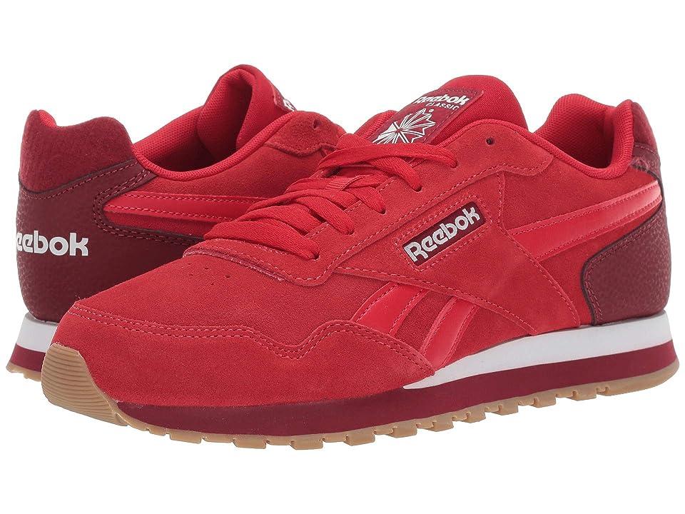 Reebok Classic Harman Run (US-Stadium Red/Triathlon Red/White/Gum) Men