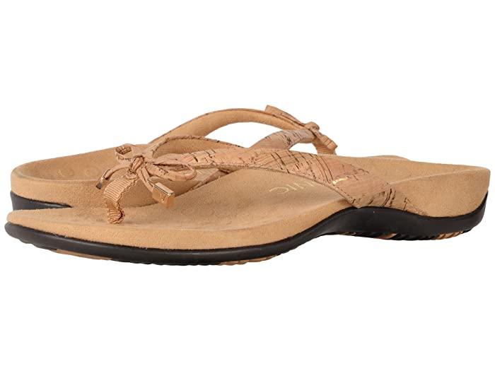 VIONIC  Bella II (Gold Cork) Womens Sandals