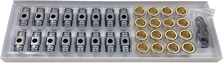 Engine Pro Rocker Arms Bronze Bushing Trunion Upgrade Kit for 1997+ Chevrolet GM Gen III IV LS Engines