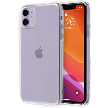 Highend berry iPhone11 ケース 落下防止 用 ストラップ ホール 付き ソフト TPU ケース クリア