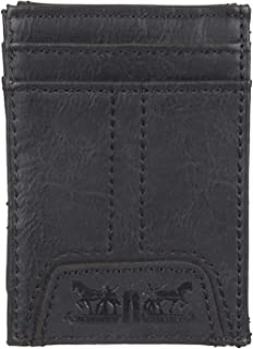 Levis 2019 Mens Wallet, Card Case & Money Organizer, Black, 14 31LV160016