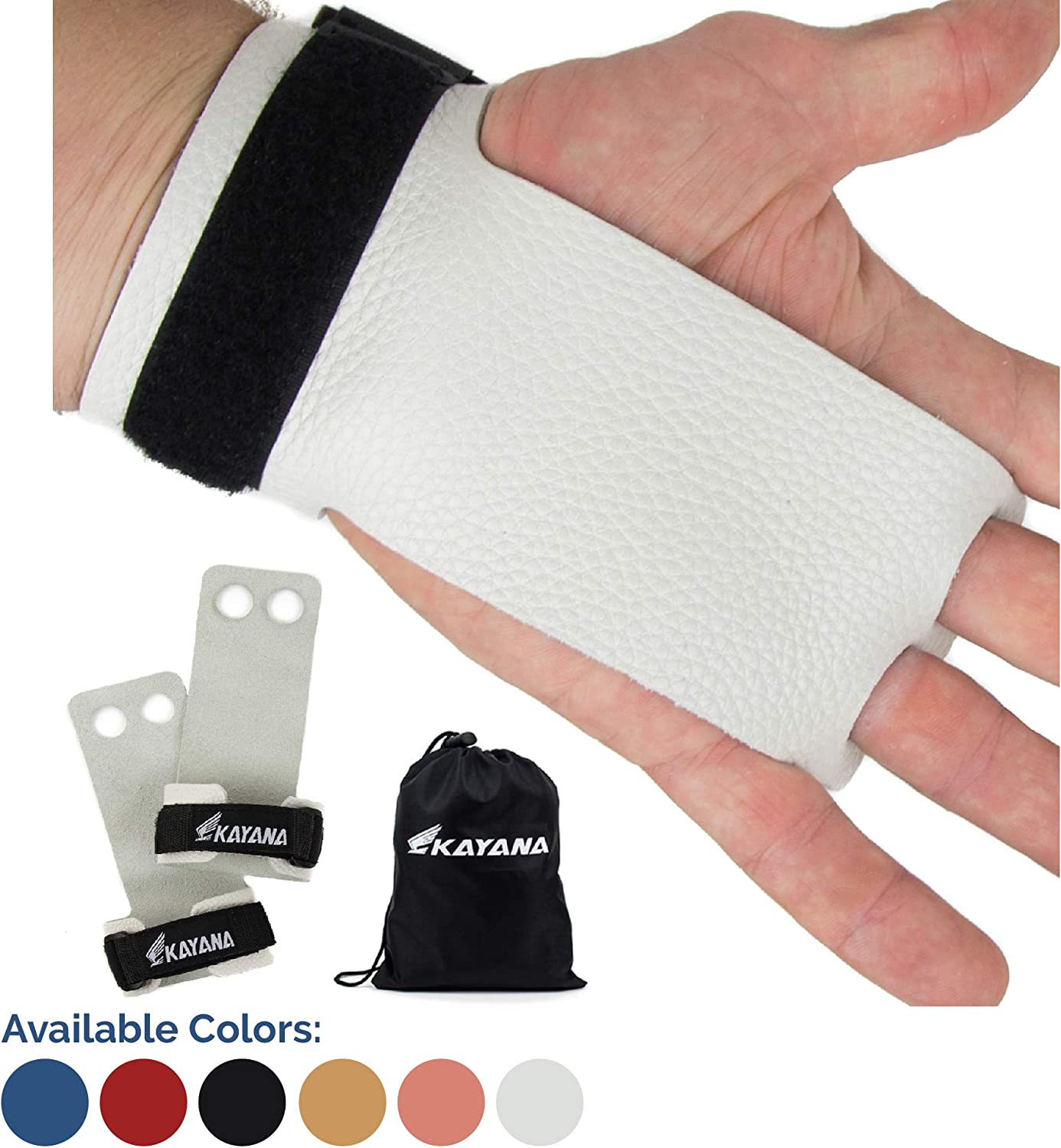 KAYANA 2 Hole Leather Gymnastics Hand Palm 40% OFF Cheap Sale Protection - an Grips Max 68% OFF