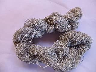 Novelty Light Gray Beige Mini Loop Boucle Fingering Yarn