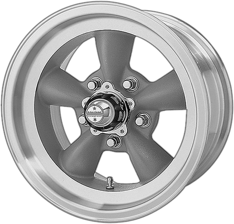 Deal on Wheels VN105D 14X6 Gray 5X4.75 -2MM MACH-LP AFTERMARKET Elegant Super popular specialty store