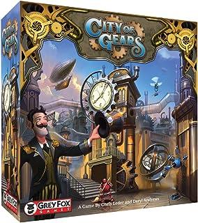 Grey Fox Games City of Gears Board Game