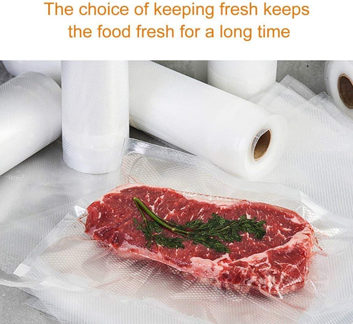Cxjff 1 rouleau de sacs de conservation sous vide pour nourriture et emballage non toxique (couleur : transparent 25 x 500 cm) Transparent 15 X 500 Cm.